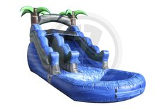 13 Foot Blue Crush Water Slide