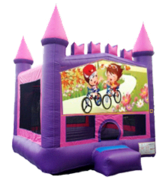 Bike Ride Pink Castle Mod