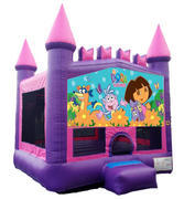 Dora the Explorer Pink Castle Mod