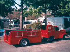 Fire Engine Trackless Ride
