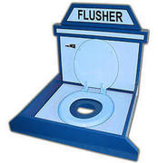 Flusher Bean Bag Game