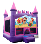Fun at the Beach 3 Pink Castle Mod