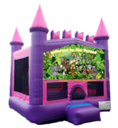 Happy Jungle Family Pink Castle Mod