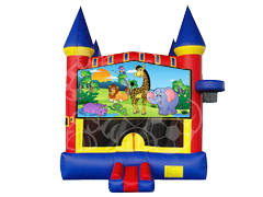 Happy Safari 1 Castle Mod w/ Hoop