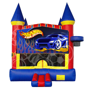 Hot Wheels Castle Mod w/ Hoop
