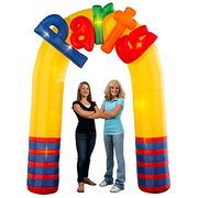 "Inflatable Lighted ""PARTY"" Arch"