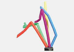 Multi Color Streamers 9 foot tall