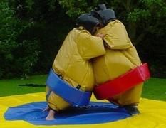 Sumo Suits/head gear/mat