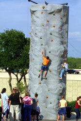 3 Person Rock Wall