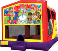 Happy Birthday Modular 4 in 1 Combo Unit