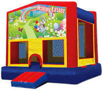 Happy Easter Modular Bounce House