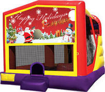 Happy Holidays Modular 4 in 1 Combo Unit