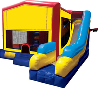 Modular 7 in 1 Combo Bounce House (More Themes Below)