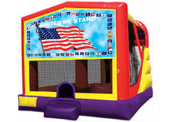 USA Flag Modular 4 in 1 Combo Unit