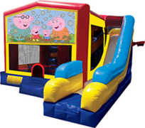 Peppa Pig 7 in 1 Combo Unit