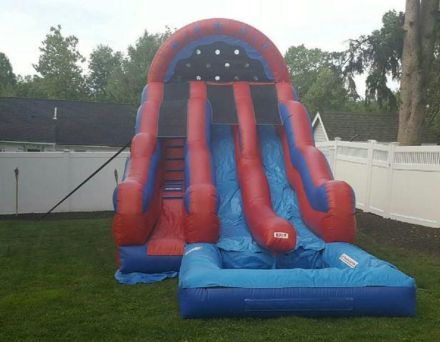 18ft Double Lane Rip n Dip Water Slide