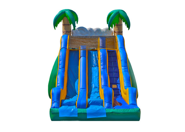 17ft Tropical Dual Lane Dryslide