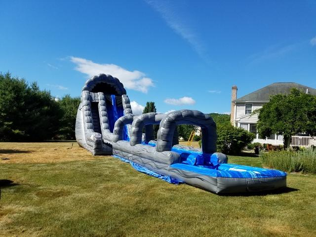 22ft Water Slide and Bounce House