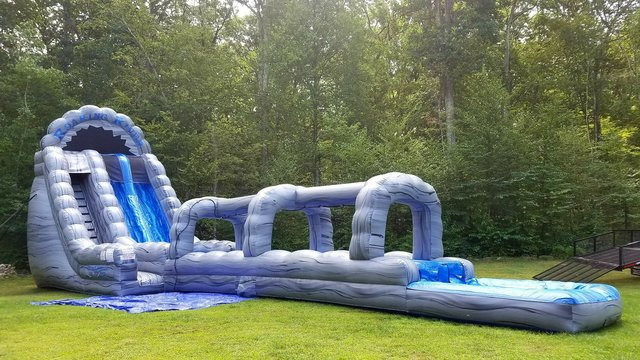 22ft Double Lane with Slip n Slide 65ft Length