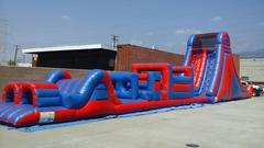 <b><font color=black><b>88ft Obstacle Course and Bounce House</font><br>