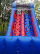20ft Rock Wall Double Lane Slide