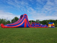 88ft Obstacle Course and Combo