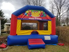 <b><font color=black><b>Happy Birthday Bounce House</font><br>