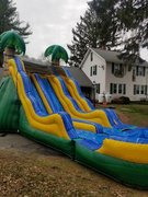 17ft Tropical Wave Dual Lane Water Slide
