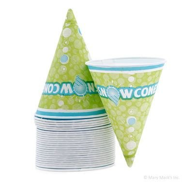 6oz Cone Cups 25pc