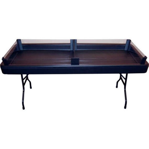 FILL 'N CHILL TABLE BLACK with  KIT and SKIRT