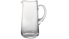 GLASS WATER PITCHER, 44 OZ
