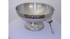 PUNCH BOWL, STAINLESS STEEL