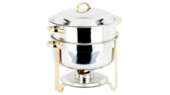 CHAFER 8 QT. ROUND SOUP