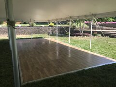 DANCE FLOOR INDOOR/OUTDOOR 16' X 24'