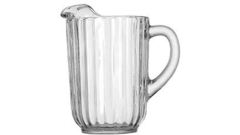 GLASS WATER PITCHER, 60 OZ