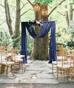 PIPE & DRAPE ROYAL DAY NAVY BACKDROP