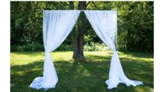 PIPE & DRAPE SHEER BACKDROP KIT