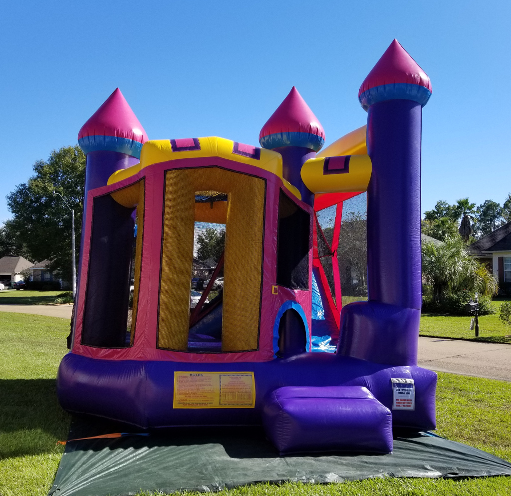 Dream Castle Combo Bounce House Rental