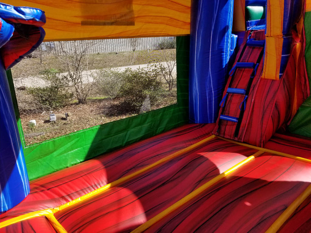 Fiesta Combo Bounce House Interior
