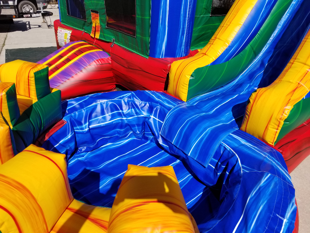 Fiesta Combo Bounce House Pool