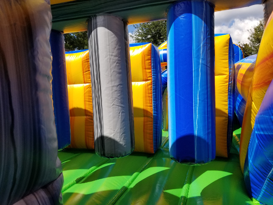 Radical Run 30-Foot Obstacle Course Pop-Downs