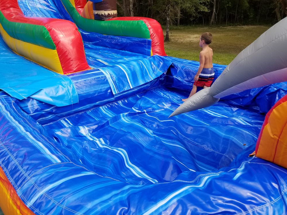 Tropical Fiesta Water Slide Rental Mandeville Covington Slidell Hammond LA