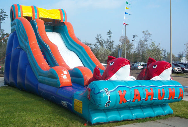 Big Kahuna Water Slide Rental Best Jump Llc Mandeville La