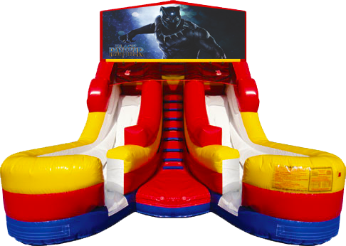 Black Panther 16' Dual Lane Dry Slide
