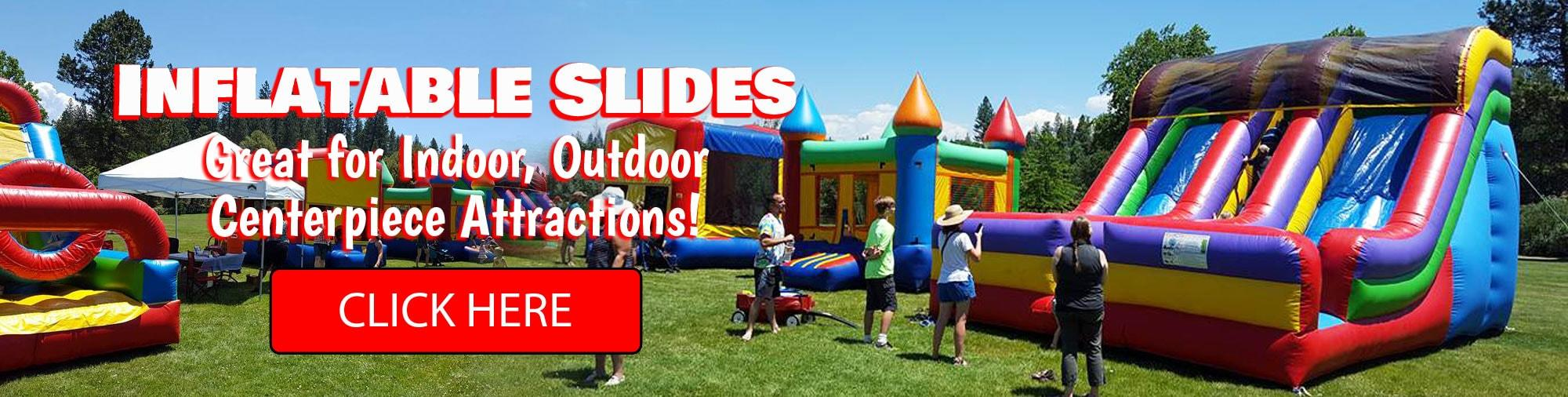 Sacramento Inflatable Slide Rentals