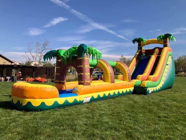 Aloha Tropical Water Slide Slip-N-Dip 50ft Monster