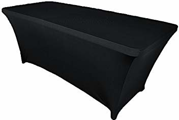 Black Fitted Table Covers