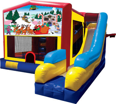 Christmas 26 Bounce House Slide 1000