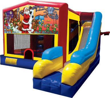 Santa Claus 39 Bounce House Slide 1000