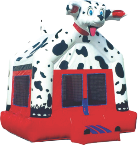 Dalmatian Inflatable Bouncer